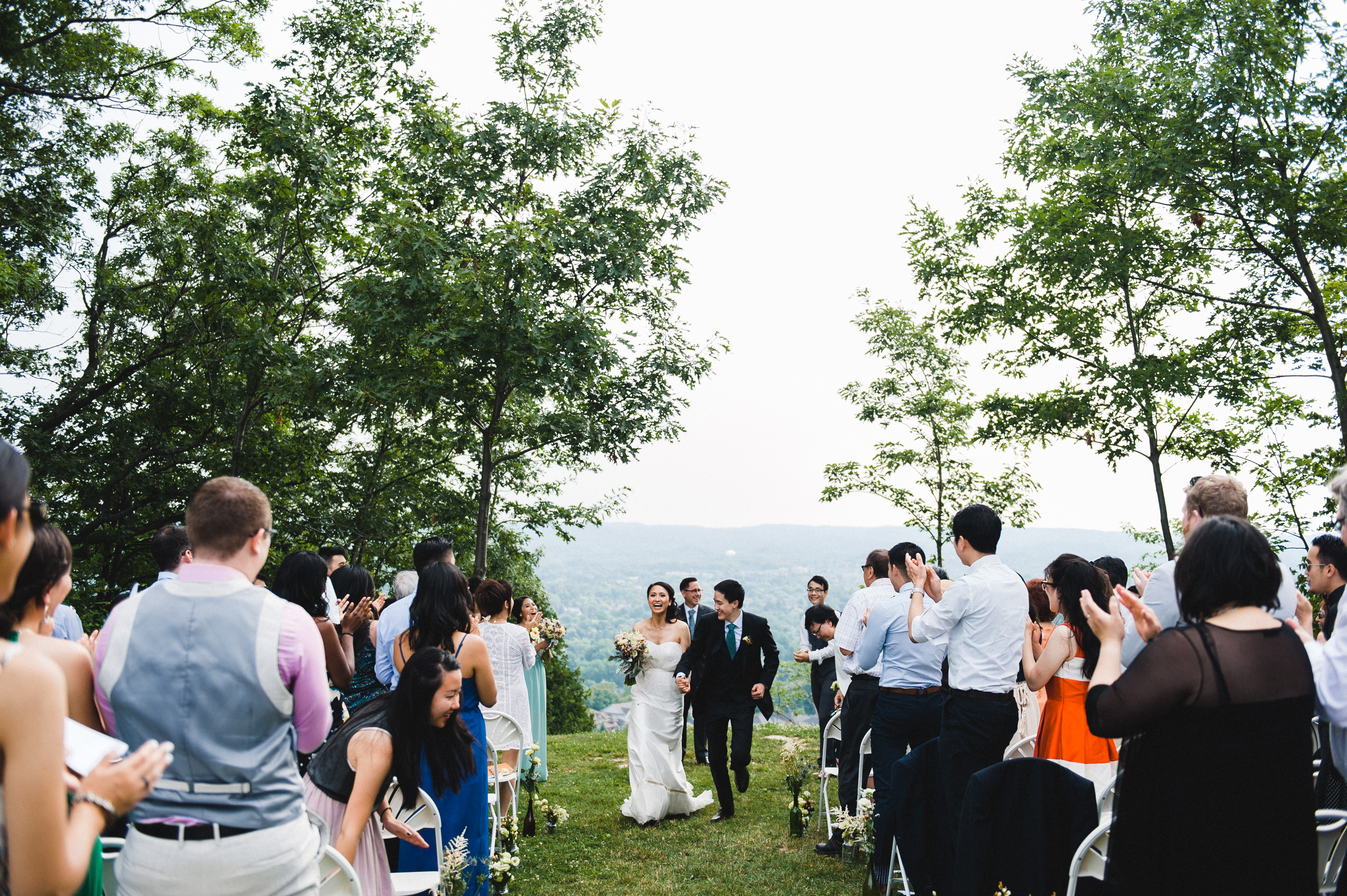 Camp kawartha wedding